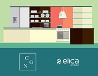 Elica: Diseño México + Italia / illustrations