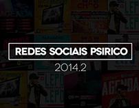 Redes sociais Banda Psirico 2014.2