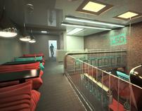 """""""LSD club"""" interior design"""