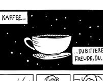 Kaffee - ein Murmel Comic