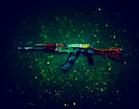 CS:GO Weapon Skin Wallpapers