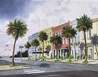 Vendue Inn Illustration