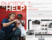 Photos to Help - Medecins Sans Frontieres