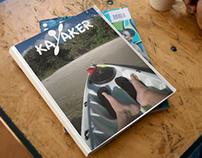 Kayaker, 2016 Publication Design Class.