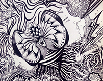 Pen and ink drawings 2014