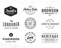 Logo/Badge Templates Vol.3