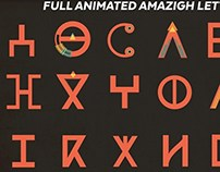 Full Animated Amazigh Letters