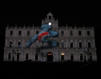 VIDEO MAPPING, Catania 2011