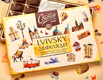 Svitoch. Lviv Walks. Illustrations and packaging design