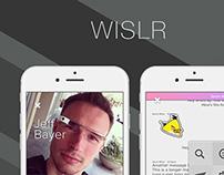 WISLR - Social App Design