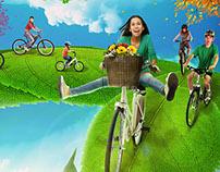 Correio Braziliense - Passeio Ciclístico de Primavera