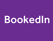 Bookedin identity Design