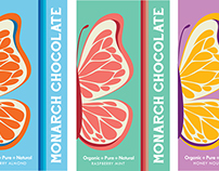 Monarch Chocolate Packaging Design