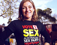 Sex Party Political Campaign - Advertising