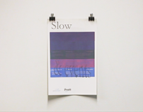 Slow Dialogues Poster Series