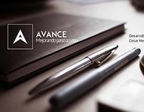 """""""Avance"""" Logo Design"""