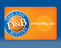 Dave & Buster's Power Card Kiosk Application