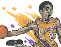 Kobe: Than & Now (Illustration)