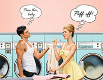 Puff Off! Benefit Cosmetics Ad Campaign