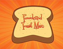 Powdered Toast Man Illustration