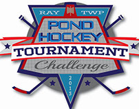 Pond Hockey Tournament logo