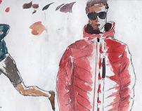 Fashion Sketching (Watercolors)