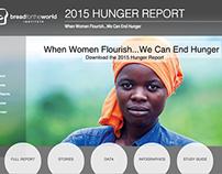 HungerReport.org Redesign