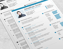Modern Resume Template – 02