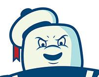 Stay Puft Illustration
