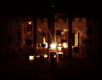 Uncle Vanya theatre play, Handmade lamp