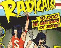 Retro Comic Book Covers