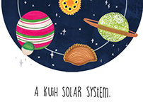 Kuih Solar System Illustration