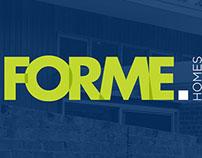 FORME HOMES - Branding