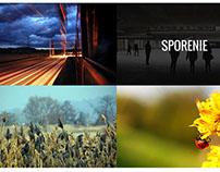 fotografia ako základný grafický prvok webovej stránky
