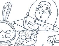 Pixar illustration - #DrawOnMonday