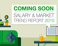 EMR Salary Survey web launch campaign