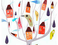 Birds and houses I