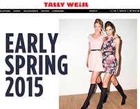 Early Spring 2015 campaign for Tally Weijl