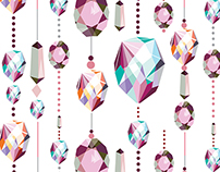 Hanging Jewel Drops
