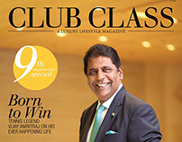 Mr. Vijay Amritraj for Club Class