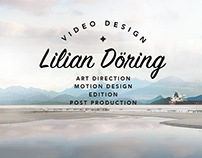 Brand new site - Lilian Döring