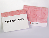 Thank You Cards - Self Promotional Piece