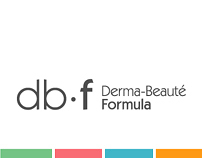 db.f // Cosmetic Brand Identity + Packaging + Brochure