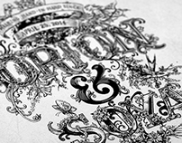 Wedding Illustration/typography