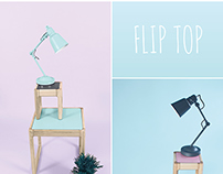 Flip Top - Childrens Table and stool