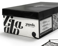 Zapata // Branding + Shoes Packaging