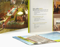 Balbin Building // Identity + Brochure