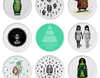 THE PORCELAIN PLATE COLLECTION