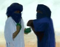 LAWRENCE OF SAHARA