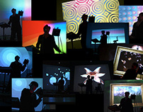 Animated Backdrops for Live Music Performance